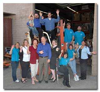 The Medallion Fulfillment & Logistics Team is ready to help you with fast responsive service.